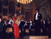 Liu Fang performed