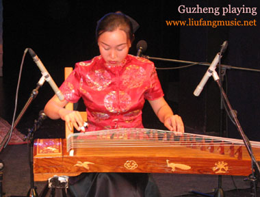 Zheng - Chinese music instrument